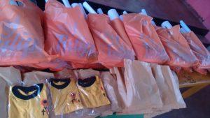 Sri Lanka - Materiale per i bimbi della Kanuwa Nursery
