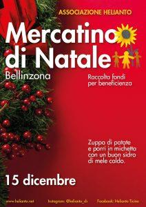 Flyer Mercatino di Natale a Bellinzona 2019