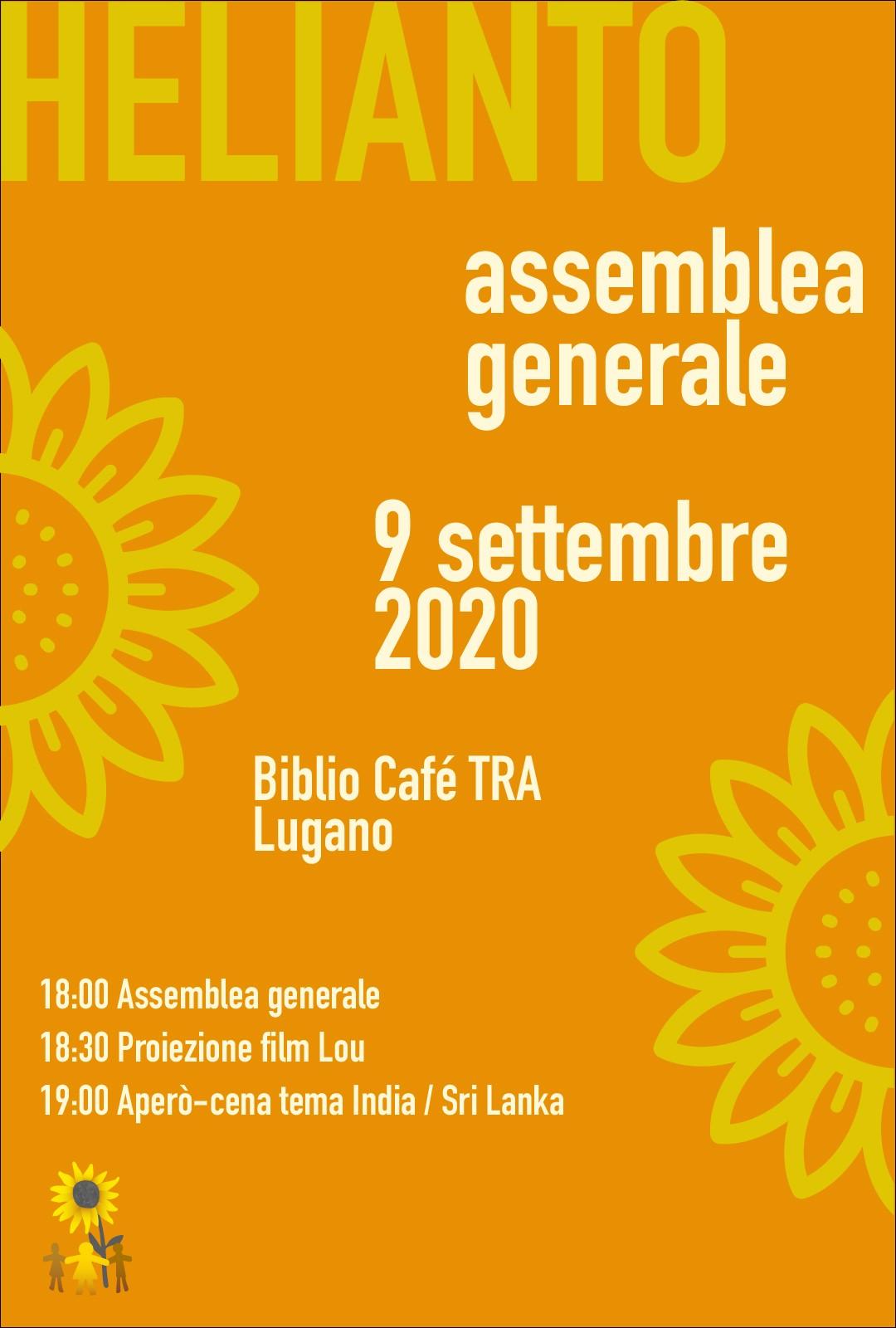 Assemblea Generale Helianto 2020